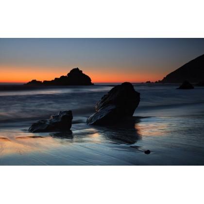 Ηλιοβασίλεμα στην Ακρογιαλιά